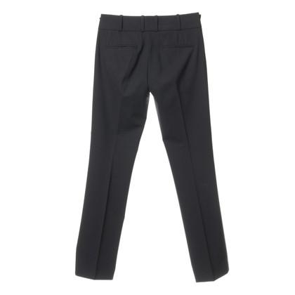 Hugo Boss Smalle pak broek in donkerblauw
