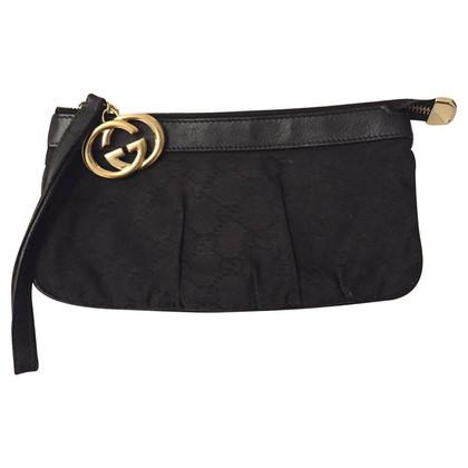 Gucci Monogram Jolicooeur Pochette zwart