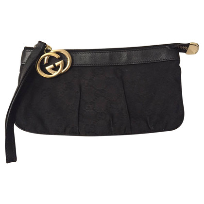 Gucci Monogram Jolicooeur Pochette black