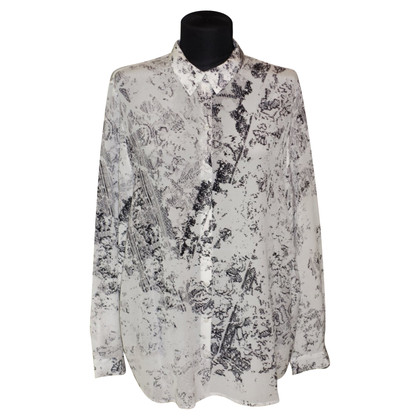 Lala Berlin Silk blouse with print