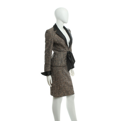 Escada Costume with pattern