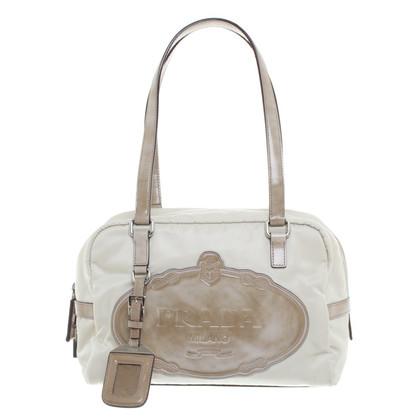 Prada Mano Bag in crema