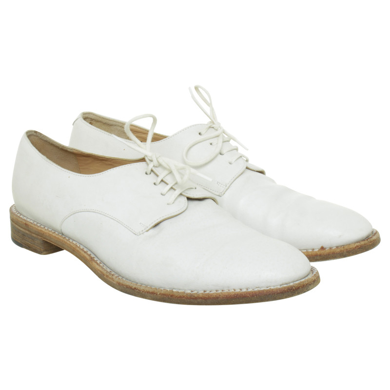 Robert Clergerie Oxford shoes in off white