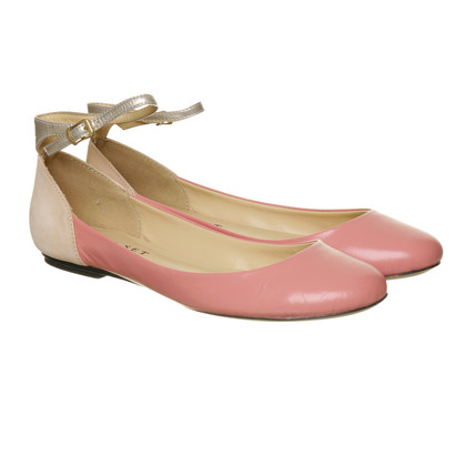Other Designer Twin-set by Simona Barbieri ballerina with ankle straps