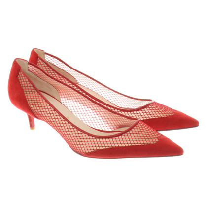 Christian Louboutin pumps en rouge