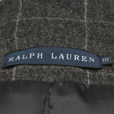 Karomuster mit Lauren Blazer Ralph Lauren Blazer Grau Ralph wYqPfpS
