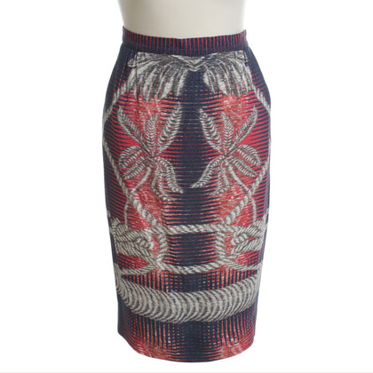 Peter Pilotto Pattern mix MIDI skirt