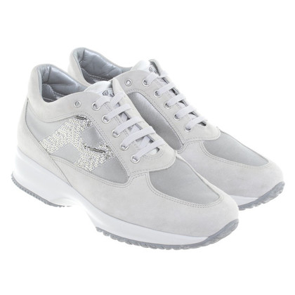 Hogan Sneakers in Silber-Grau