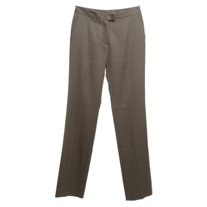 Costume National Wool trousers in Taupe