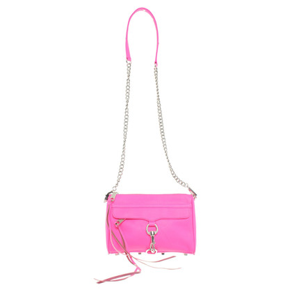 "Rebecca Minkoff ""Mac mini"" in neon pink"