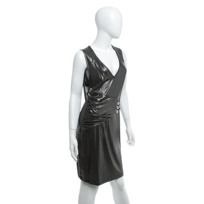 Versace Dress in silver gray