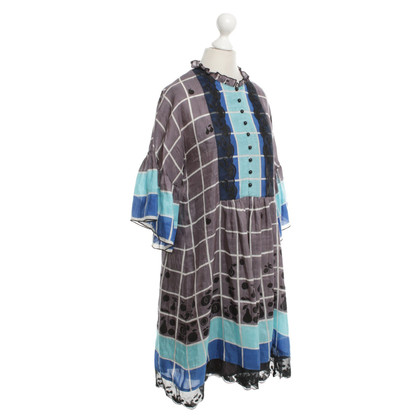 Anna Sui Dress with check pattern
