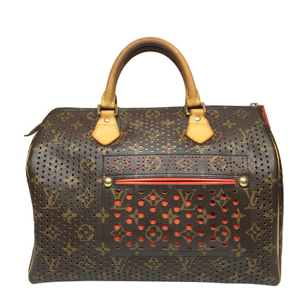"Louis Vuitton ""Speedy 30 monogram of perforated canvas"""