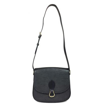 """Louis Vuitton """"Saint Cloud GM EPI leather"""" in black"""