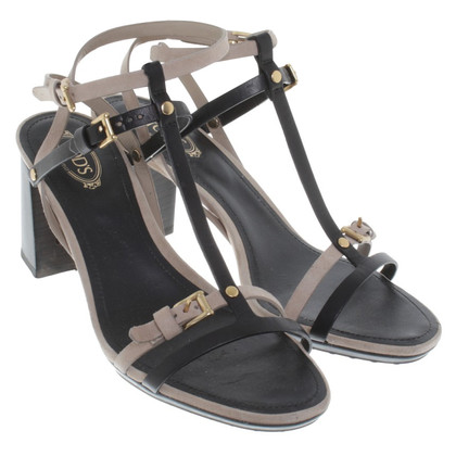 Tod's Sandals in bicolour