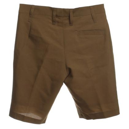 Jil Sander Shorts in Oliv