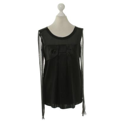 Dolce & Gabbana Blouse top in zwart