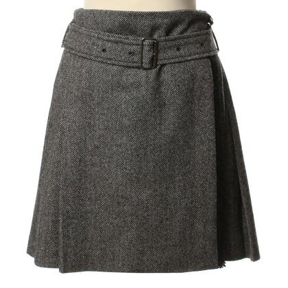 Burberry Wool skirt in grey