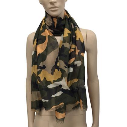 Valentino Camouflage Schal