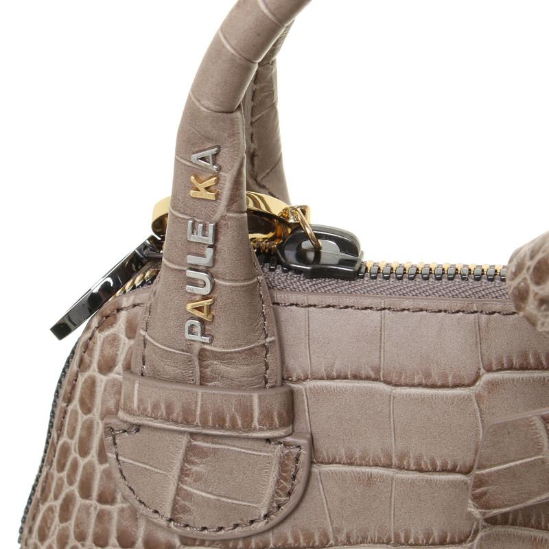 Bag In Ka Taupe Shoulder Paule Second Hand nPN0wk8OX