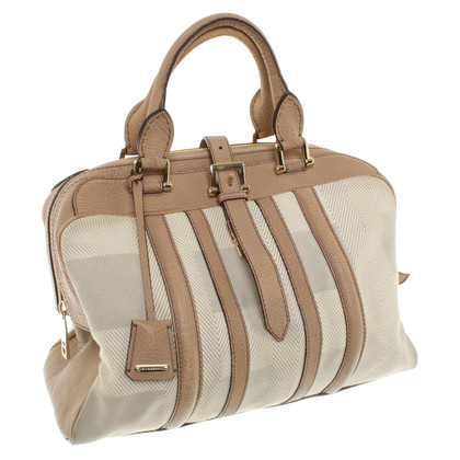 Burberry Handbag in beige / cream