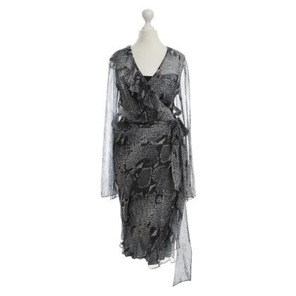 """Diane von Furstenberg Chiffon jurk """"Himana"""""""