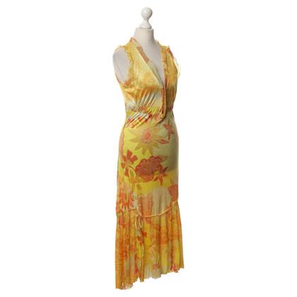 Roberto Cavalli Kleid mit Muster