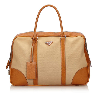 Prada Canvas Duffel Bag