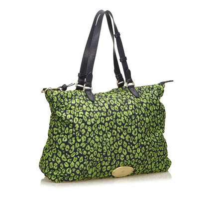 Mulberry Quilted Printed Nylon Handtas