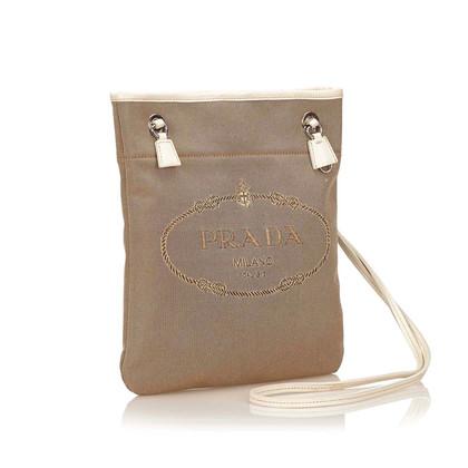 Prada Logo Jacquard Shoulder bag