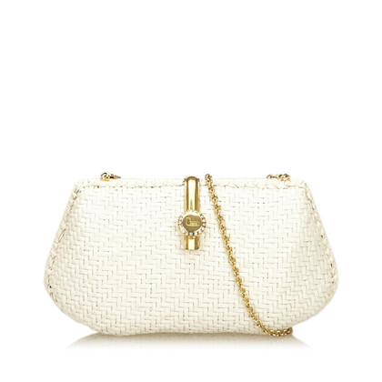 Lancel Straw tessuto Shoulder bag