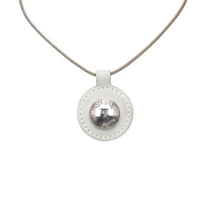 Hermès Circle Pendant Necklace
