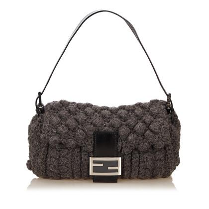 Fendi Wool Baguette