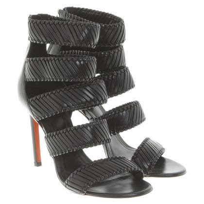 Santoni Sandals in black