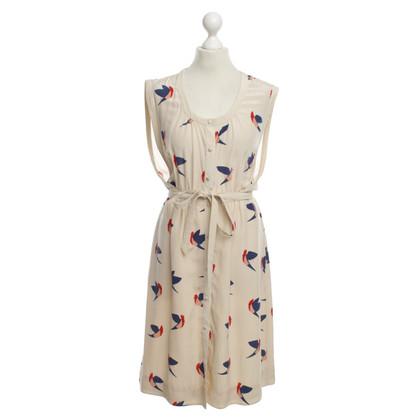 Marc Jacobs zijden jurk met Bird Print