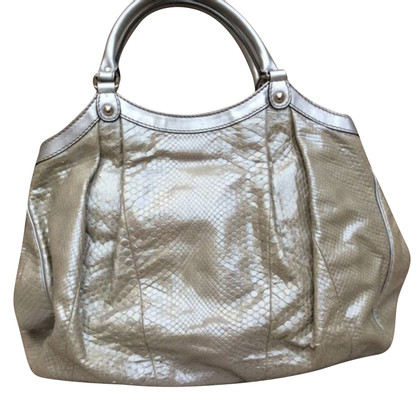 "Gucci Python leer ""Sukey Bag Large"""