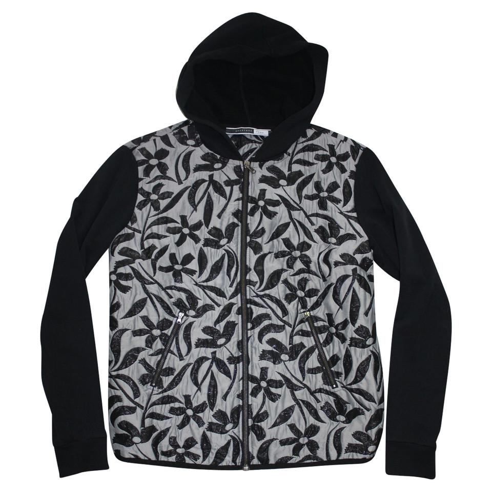 Sport Max Veste à capuche avec motif