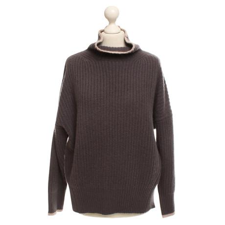 360 Sweater Pullover aus Kaschmir Grau