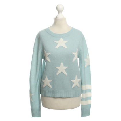 360 Sweater Cashmere Sweater in Light Blue