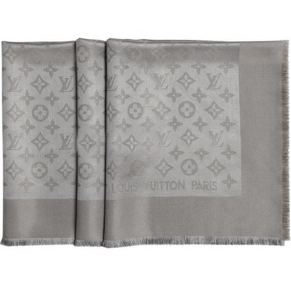 Louis Vuitton Scialle Monogram Beige Scuro Verone