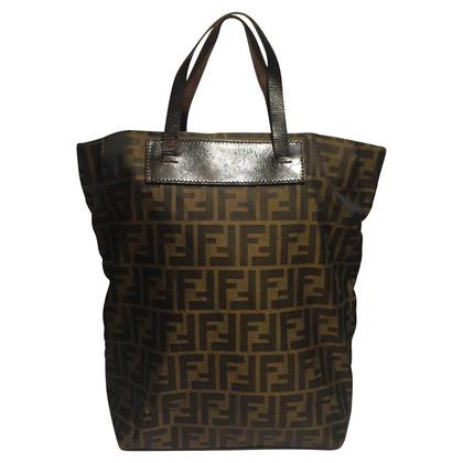 Fendi Shopper with monogram pattern