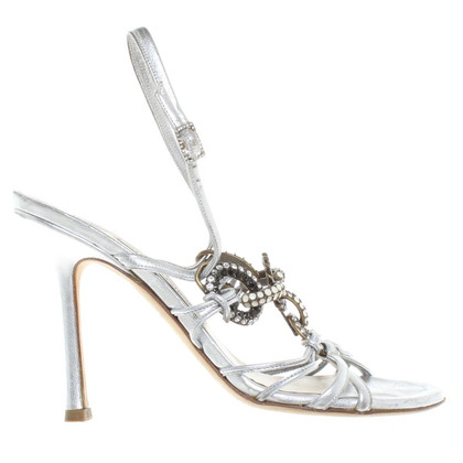 Jimmy Choo sandali color argento