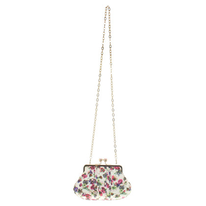 Ted Baker clutch with flower pattern