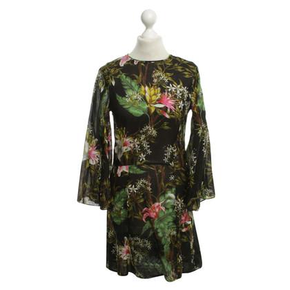 Isabel Marant Etoile Cotton dress with pattern