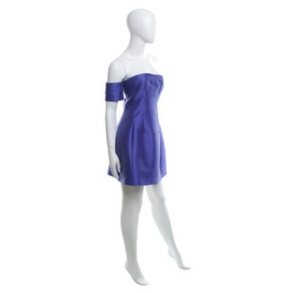 Carven Mini robe pourpre