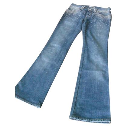 Blumarine Jeans with Rhinestone