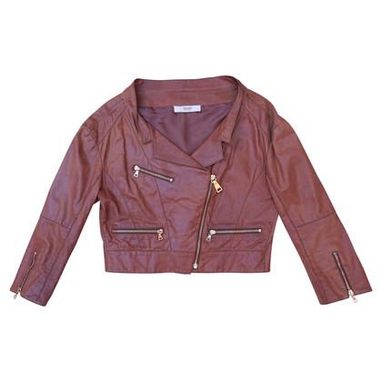 Prada Leather jacket in biker style