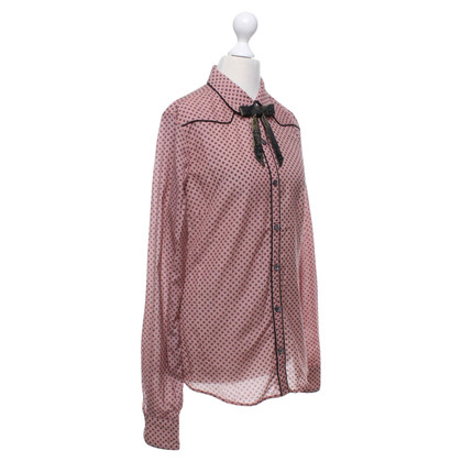 Maison Scotch Blouse met lus
