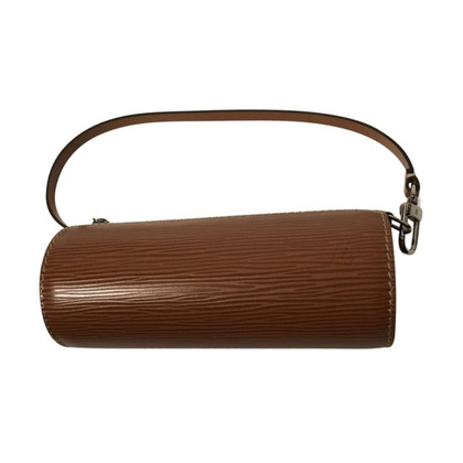 "Louis Vuitton ""Papillon Pochette Epi Leder"" in Cognac"