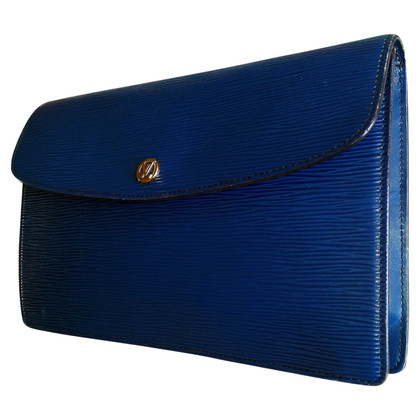"Louis Vuitton ""Montaigne clutch Epi Leather"""